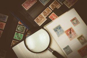 collezione di francobolli